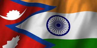 India nepal, BoycottChina, Army with bullet, Civilians with wallet, BoycottChineseApp